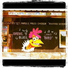 Photo taken at Champy's Famous Fried Chicken by Kevin on 3/6/2012