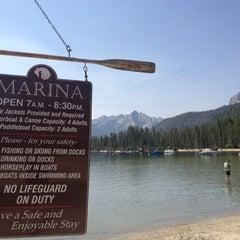 Photo taken at Redfish Lake Lodge by Matt T. on 8/14/2012