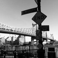Photo taken at Ed Koch Queensboro Bridge by Hugo C. on 2/28/2012
