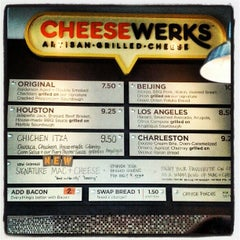 Photo taken at CHEESEWERKS by Daniel P. on 7/13/2012