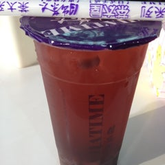 Photo taken at ChaTime (曰出茶太) by Elle W. on 6/30/2012