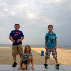 Photo taken at 22nd Street Beach by Rob M. on 7/29/2012