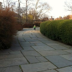 Photo taken at Central Park - Conservatory Garden by Darcy D. on 3/13/2012