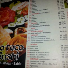 Photo taken at Boteco Sushi by Pollyana Larissa S. on 4/12/2012
