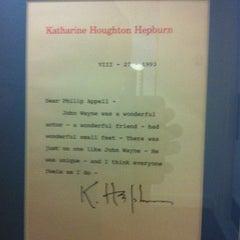 Photo taken at Katharine Hepburn Cultural Arts Center by Mabel R. on 7/18/2012