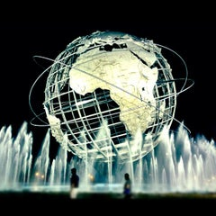 Photo taken at The Unisphere by Courtney J. on 8/29/2012