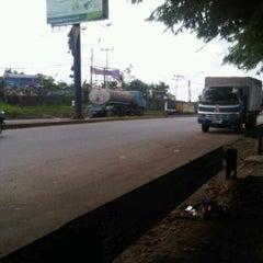 Photo taken at Gerbang Tol Bitung/Curug by rossyta g. on 3/2/2012
