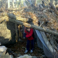 Photo taken at Hobo Hutville by Rodney T. on 1/16/2012