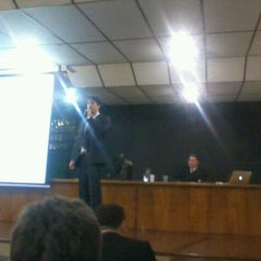Photo taken at Fecomércio by Rafael A. on 9/9/2011