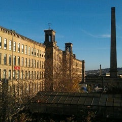 Photo taken at Salts Mill by Simon F. on 11/17/2011