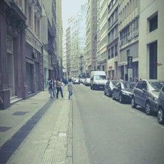 Photo taken at Rua Sete de Abril by Felipe T. on 12/30/2011