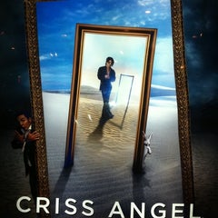 Photo taken at CRISS ANGEL Believe by Guillermo Q. on 1/1/2012