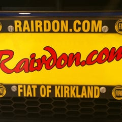 Photo taken at Rairdon's FIAT of Kirkland by Erin A. on 9/20/2011