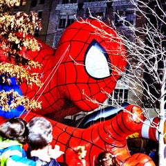Photo taken at Macy's Parade Balloon Inflation 2012 by @cfnoble on 11/24/2011