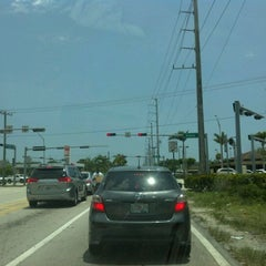 Photo taken at SW 144th Street & US1 by Kevin H. on 5/8/2012
