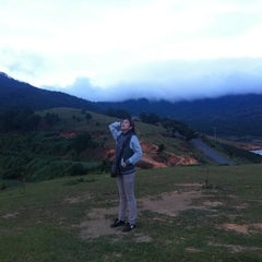 Photo taken at LangBiang Hill by Aey p. on 11/13/2011