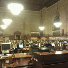 Photo taken at Rose Main Reading Room by József P. on 12/20/2011