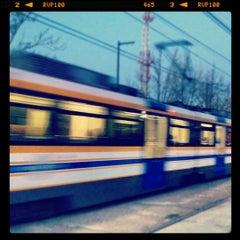 Photo taken at SACRT Light Rail 16th St Station by BS B. on 2/15/2012