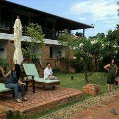 Photo taken at Sukhothai Heritage Resort by Chitipon T. on 5/2/2011