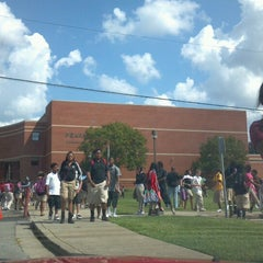Photo taken at Pearl Cohn High School by Abena I. on 9/7/2012
