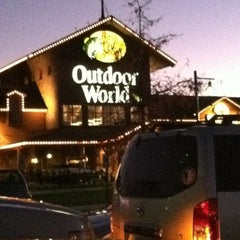 Photo taken at Bass Pro Shops by Chad on 11/24/2011