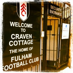 Photo taken at Craven Cottage by Fulham Football Club on 4/20/2012