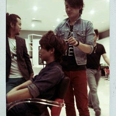 Photo taken at Peek-a-boo Hair Salon by Robinson T. on 12/10/2011