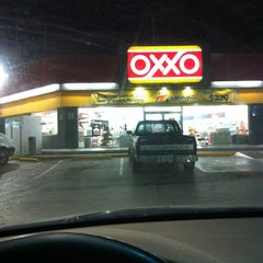Photo taken at Oxxo Gas by Eloy A. on 1/14/2012