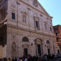 Photo taken at Chiesa di San Luigi dei Francesi by Germano P. on 7/6/2011