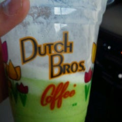 Photo taken at Dutch Bros. Coffee by Miguel W. on 2/25/2012