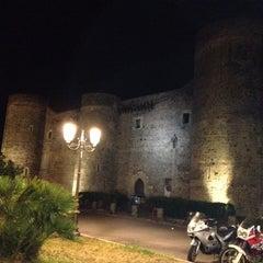 Photo taken at Castello Ursino by Fabio C. on 6/15/2012