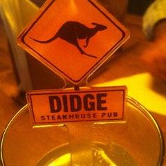 Photo taken at Didge Steakhouse Pub by Rafael V. on 6/30/2012