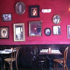 Photo taken at Justine's Brasserie by Dimitry I. on 3/13/2011