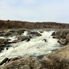 Photo taken at Great Falls National Park by Matthew H. on 11/13/2011