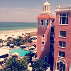 Photo taken at Loews Don CeSar Hotel by cayla b. on 7/7/2012