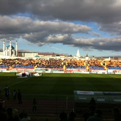 Photo taken at Центральный Стадион / Central Stadium by Vadim D. on 5/2/2012