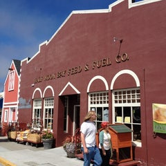 Photo taken at Half Moon Bay Feed & Fuel by everpeace S. on 6/30/2012