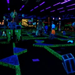 Photo taken at Monster Mini Golf by Matt L. on 10/20/2011