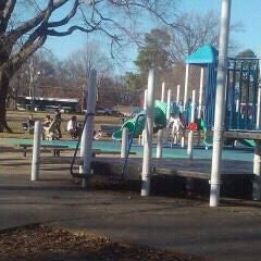 Photo taken at Marquette Park by Niysha T. on 2/13/2011