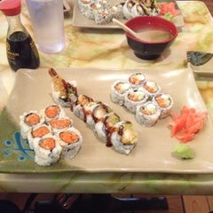 Photo taken at Aki Sushi West by Noel M. on 6/11/2012