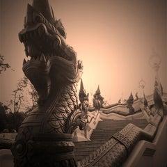 Photo taken at วัดแก้วโกรวาราม (Wat Kaew Korawaram) by Nuthinee T. on 12/5/2011