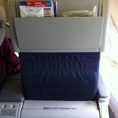 Photo taken at KLM Flight KL643 [AMS - JFK] by Robertjan G. on 8/3/2011