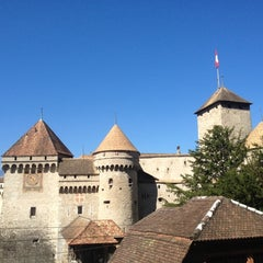 Photo taken at Château de Chillon by Dmitry K. on 8/11/2012