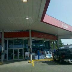 Photo taken at GetGo Gas Station by Drew K. on 6/5/2011