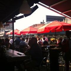 Photo taken at Terrasse Nelligan by Vanessa V. on 8/1/2012