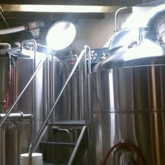 Photo taken at Upright Brewing by Steven S. on 10/3/2011