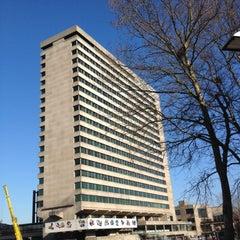 Photo taken at Erasmus University Rotterdam (EUR) by Marijke P. on 4/3/2012