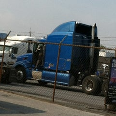 Photo taken at Werner Enterprises Allentown, PA Terminal by Catherine L. on 4/21/2012