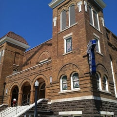 Photo taken at 16th Street Baptist Church by Bill W. on 8/26/2012