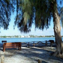 Photo taken at Ted Sperling Park at South Lido Beach by William S. on 10/23/2011